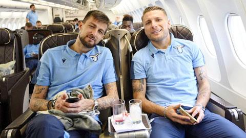 Lazio 'trói chặt' Immobile và Acerbi